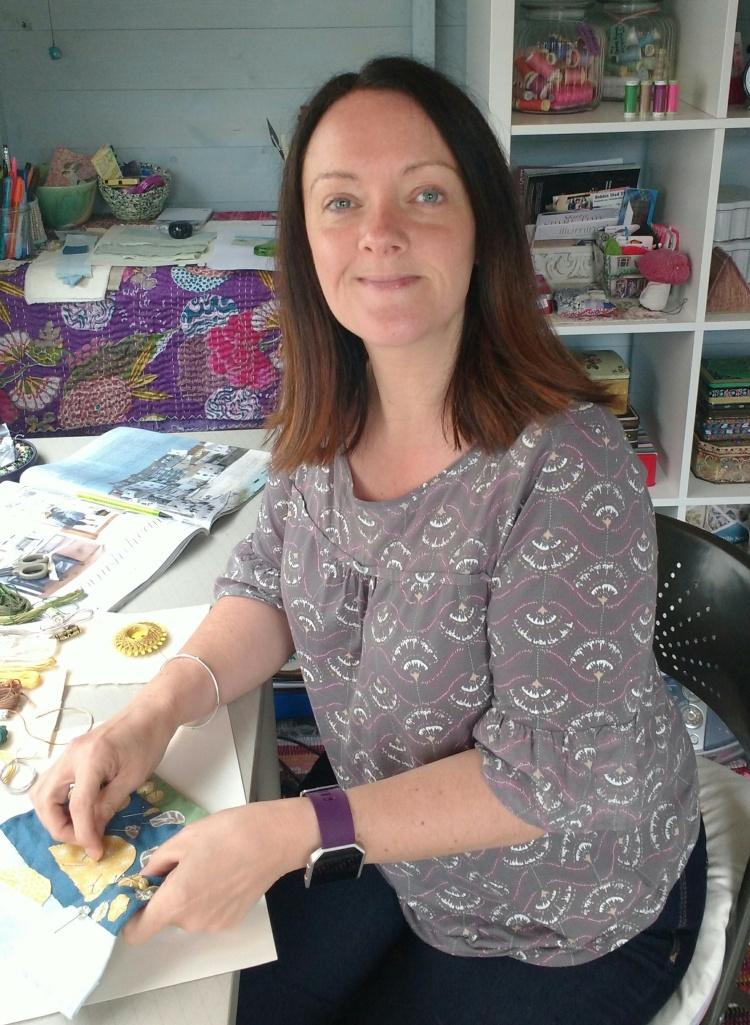emma in her studio