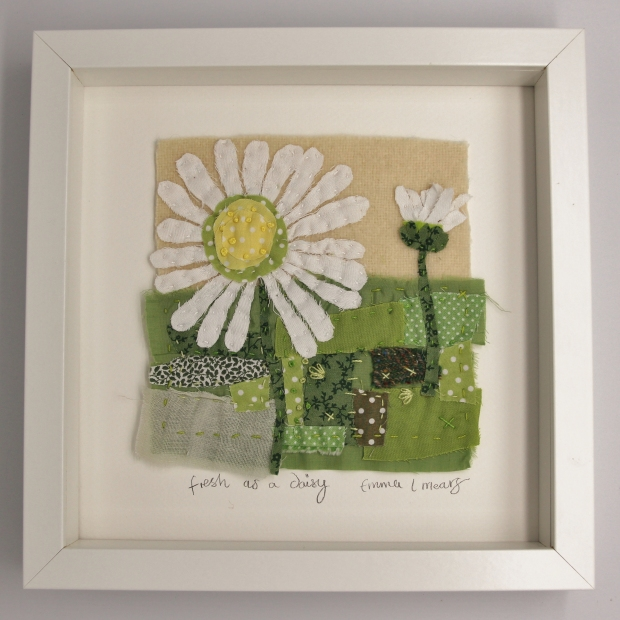 fresh as a daisy framed