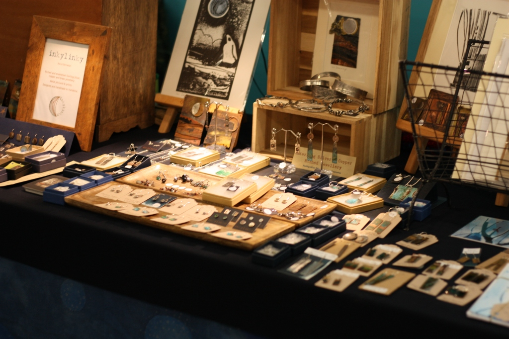A stall selling jewellery